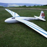 dfs sperber junior model glider