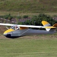 T61 Falke Motor Glider Short Kit & Plan | Laser Cut Sailplanes