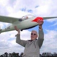 cliff ka2b rc model glider