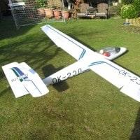 bill cooks inteco l213 aerobatic glider