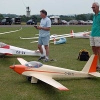 cliff charlesworth ask 16 scale motor glider