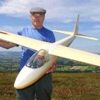 cliff charlesworth ka6e radio control model glider