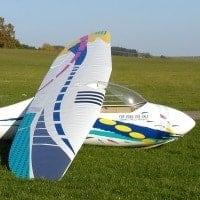 cliff charlesworth lo100 acro scale glider