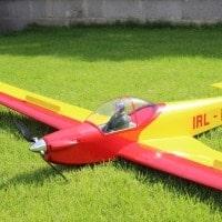 cliff charlesworth sf33 motor glider