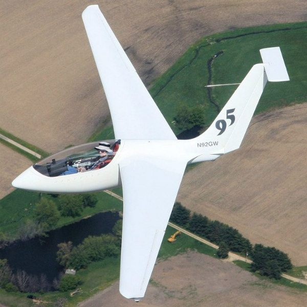 genesis II high performance model glider