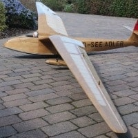 jilles smits see adler short kit plan rc model glider