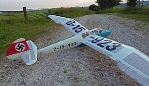 chris williams minimoa mo2 two seat model sailplane 2