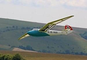 chris williams minimoa mo2 two seat model sailplane 3