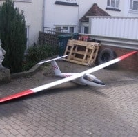 jilles smits 1/3 scale pilatus b4 sailplane