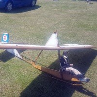 Jilles Smits SG 38 model glider and plan for radio control