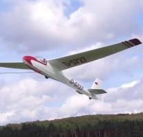 laser cut sailplanes jilles smits schleicher K-8 K8-b short kit plan