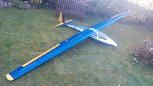 laser cut sailplanes jilles smits k7 short kit plan