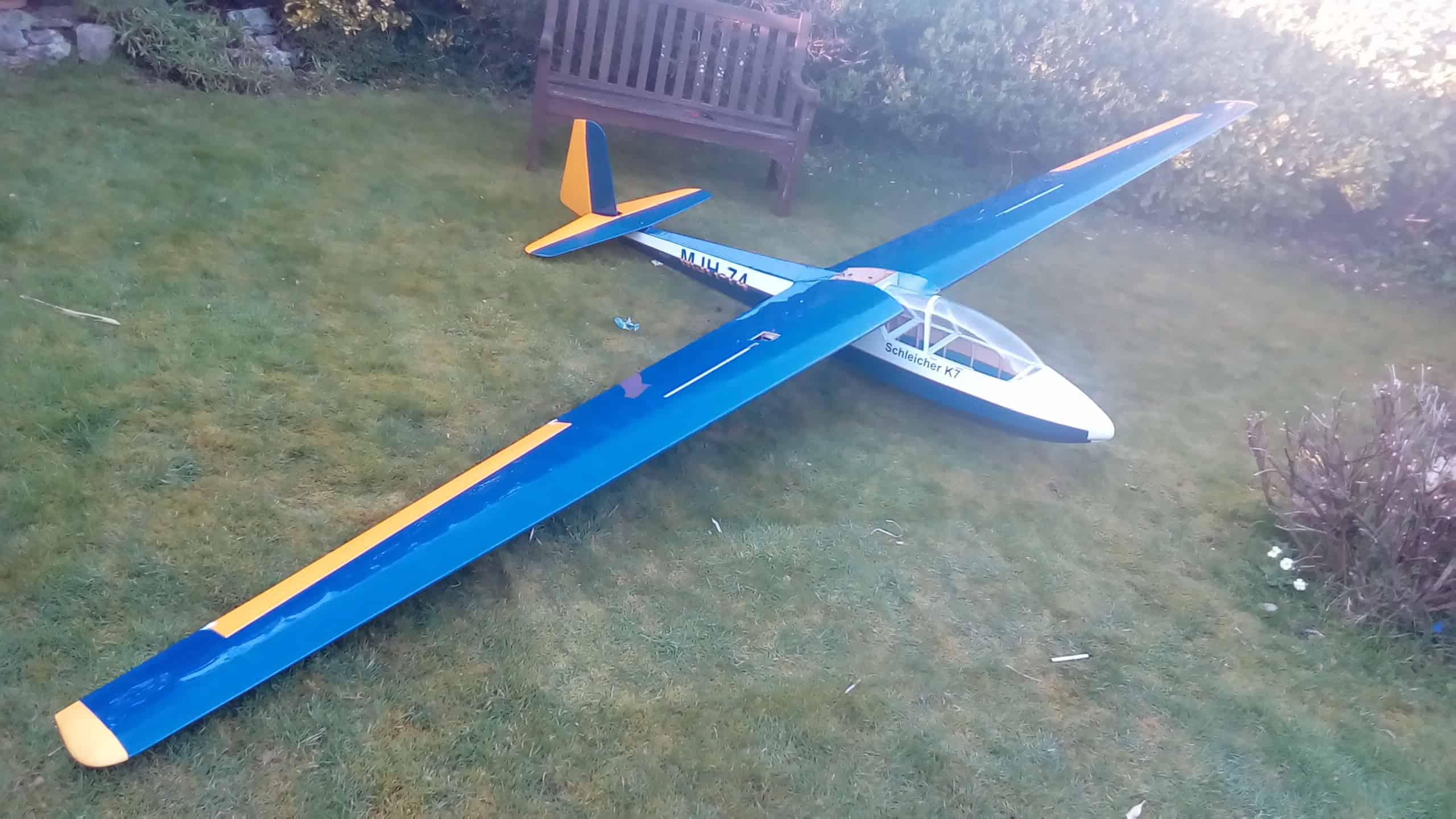 laser cut sailplanes jilles smits k7 short kit plan